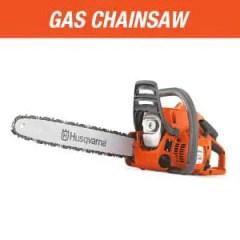 gas chainsaw