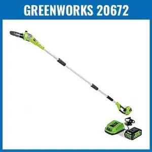 Greenworks 20672 Cordless Pole Saw