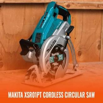 Makita XSR01PT cordless circular saw