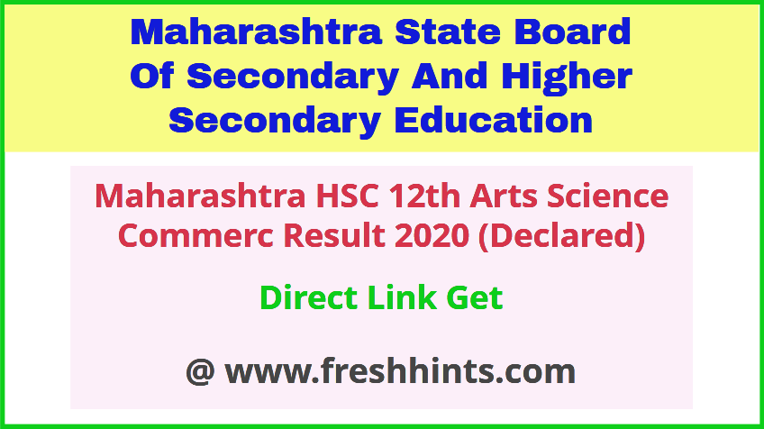 MSBSHSE 12th Class Results 2020 Check Online