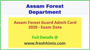 SLPRB Assam Admit Card