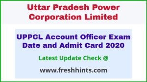 UPPCL Lekha Adhikari Hall Ticket 2020 Download