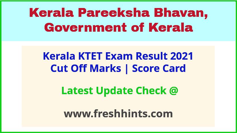 Kerala TET Exam Results 2021