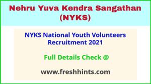 NYKS National Youth Volunteers Recruitment 2021