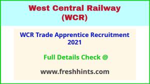 WCR- trade -apprentice -recruitment -2021