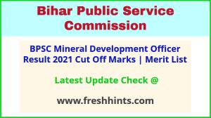 Bihar Mining Development Officer Selection List 2021