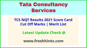 TCS National Qualifier Test Rank Card 2021