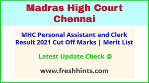 MHC Personal Assistant Selection List 2021