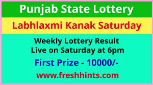 Punjab Lottery Kanak Saturday Weekly Winner List 2021