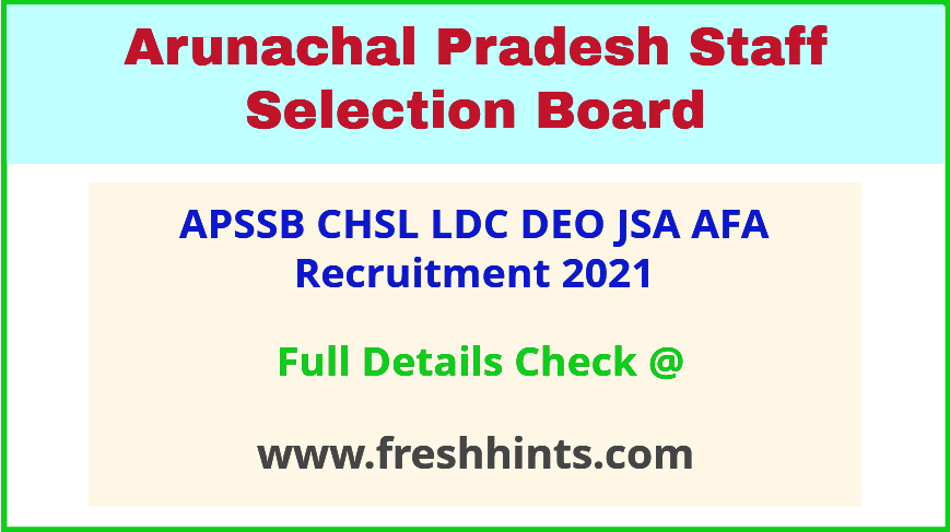 APSSB CHSL Vacancy Notification 2021