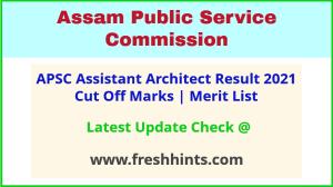 Assam PWD Assistant Architect Selection List 2021