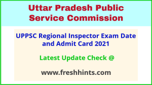 UPPSC RI Technical Exam Hall Ticket 2021