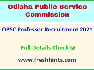 opsc professor recruitment 2021
