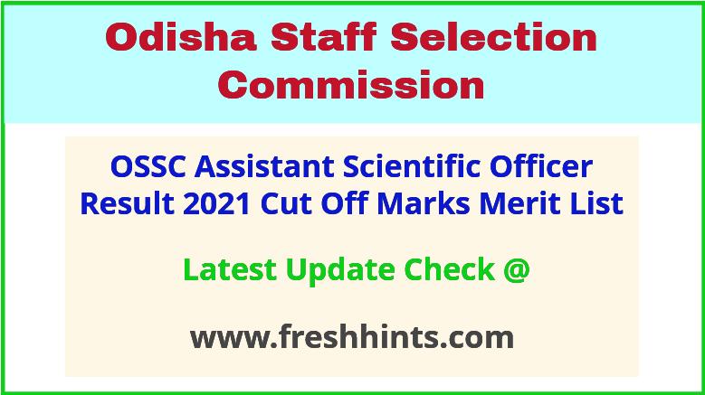 OSSC ASO Selection List 2021