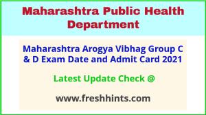 Maharashtra Public Health Department Admit Card 2021