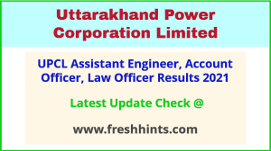 UPCL Assistant Engineer Selection List 2021