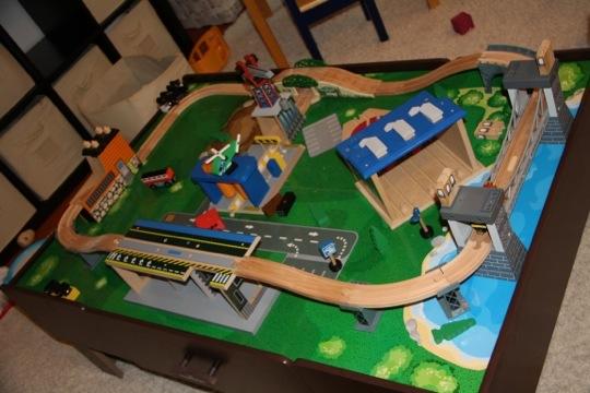 Toddler Train Set Redesign.