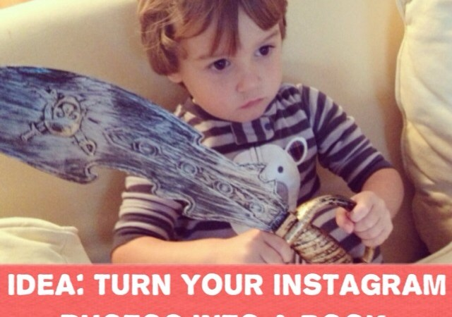 Turn your Instagram Photos into a book.