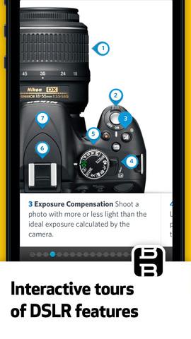 dslr camera tutorial app