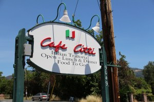 Cafe Citti – Sonoma Valley dining