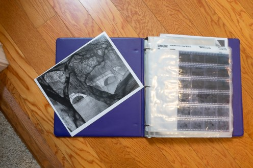 a print and negatives