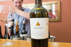 An Artistic Gallery of Wine at Artesa Winery in Napa