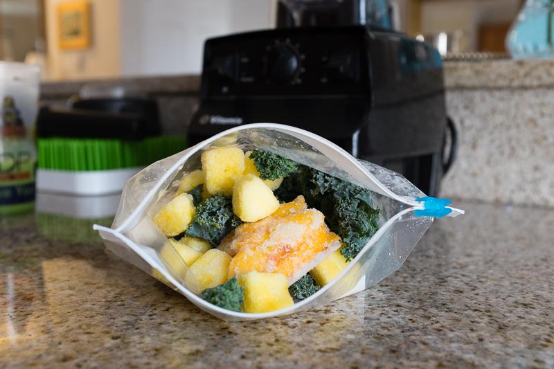 Frozen Kale & Fruit