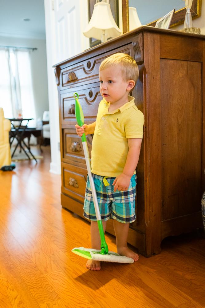 Get to work, toddler.