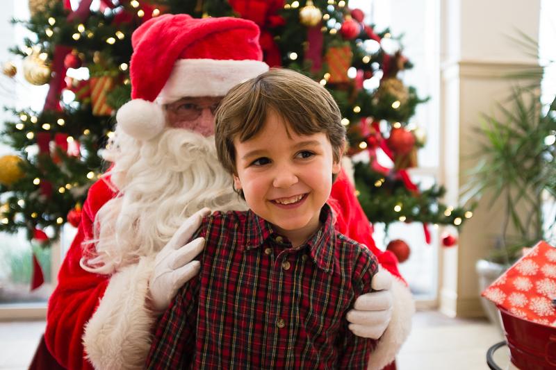 Brunch with Santa at Croissants