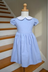 Seesaw Society Blue Gingham Dress