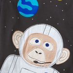 monkey to the moon