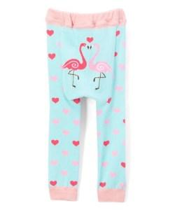Flamingos doodle pants