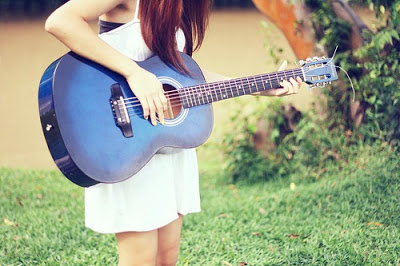 Acoustic Guitar Wallpaper For Facebook Cover With Quotes Cute And Innocent Girls Dp For Whatsapp And Facebook