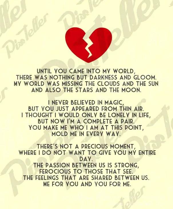 Short Romantic Quotes Wife