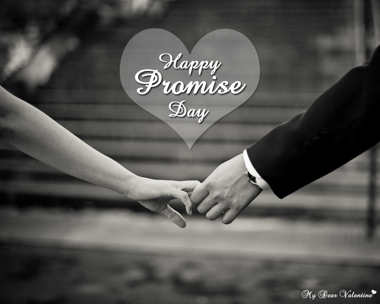 Very Cute Couple Hd Wallpaper Happy Promise Day 2018 Hd Wallpapers Freshmorningquotes