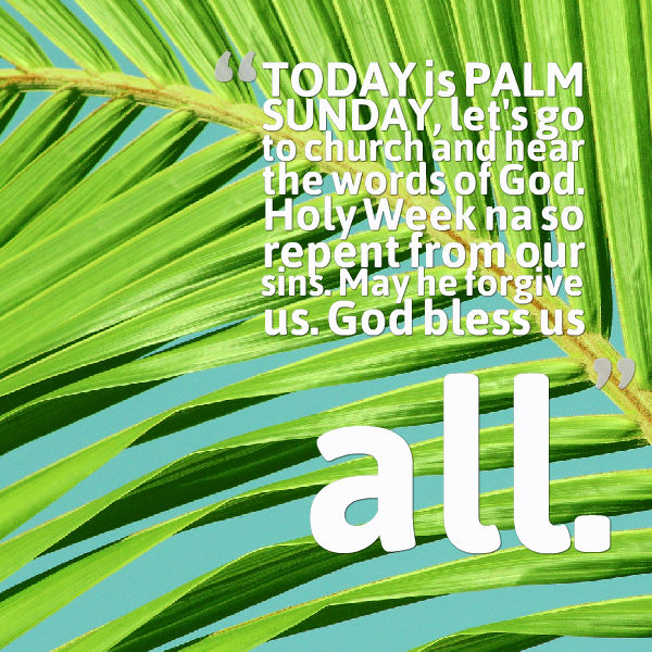 Palm Sunday Messages Wishes And Quotes 2016