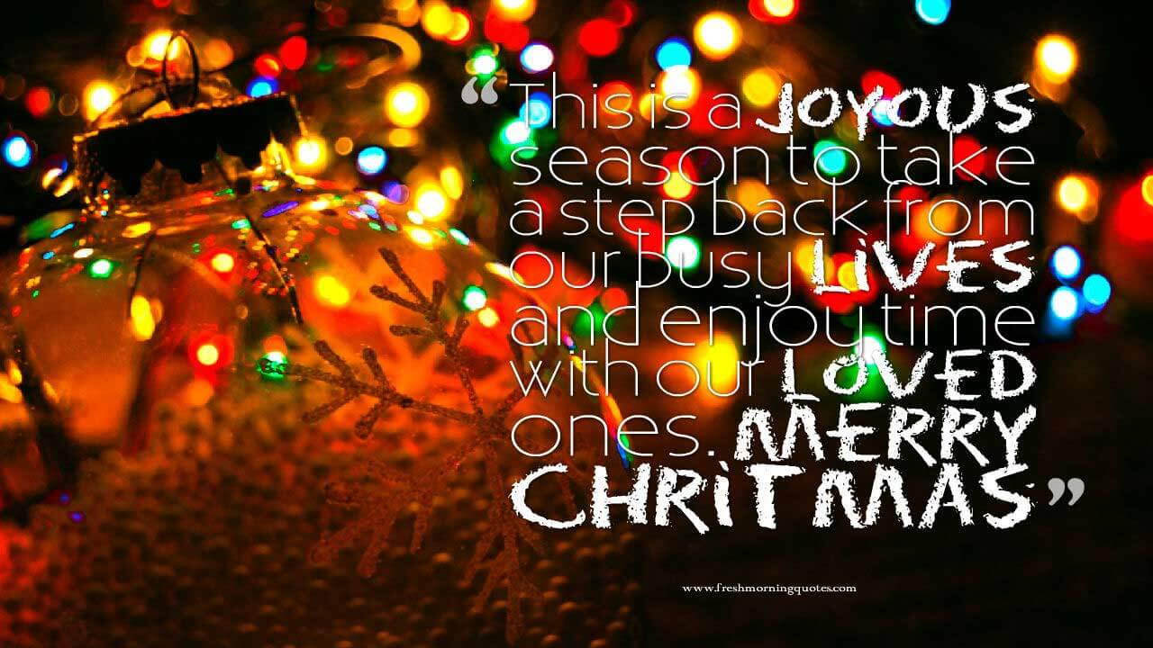 100 Heart Touching Merry Christmas Wishes