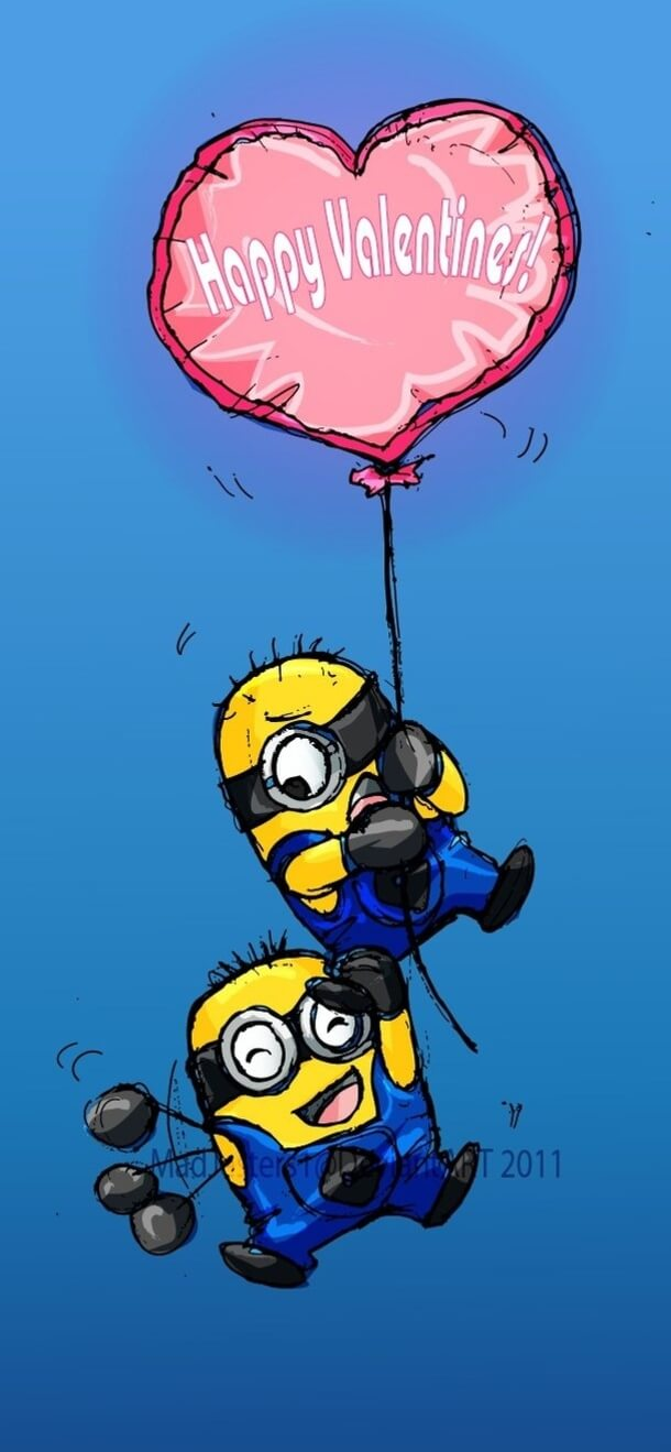 Romantic Love Wallpapers Quotes 40 Valentine S Day Minion Quotes About Love