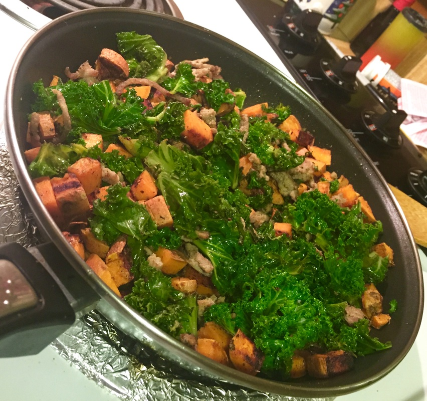 ​Sauteed Kale and Saltbush
