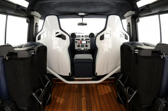Land Rover Defender 90 Startech Yachting Edition