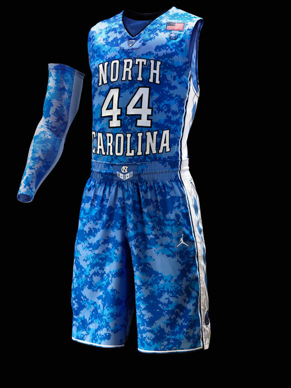 Jordan Brand  Digital Camouflage Uniform for University