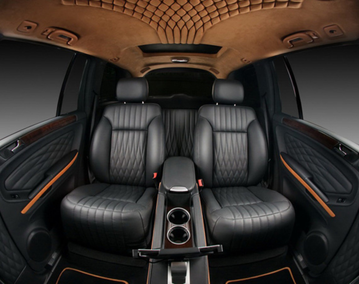 MercedesBenz GL550  Luxury Interior Custom  By VILNER