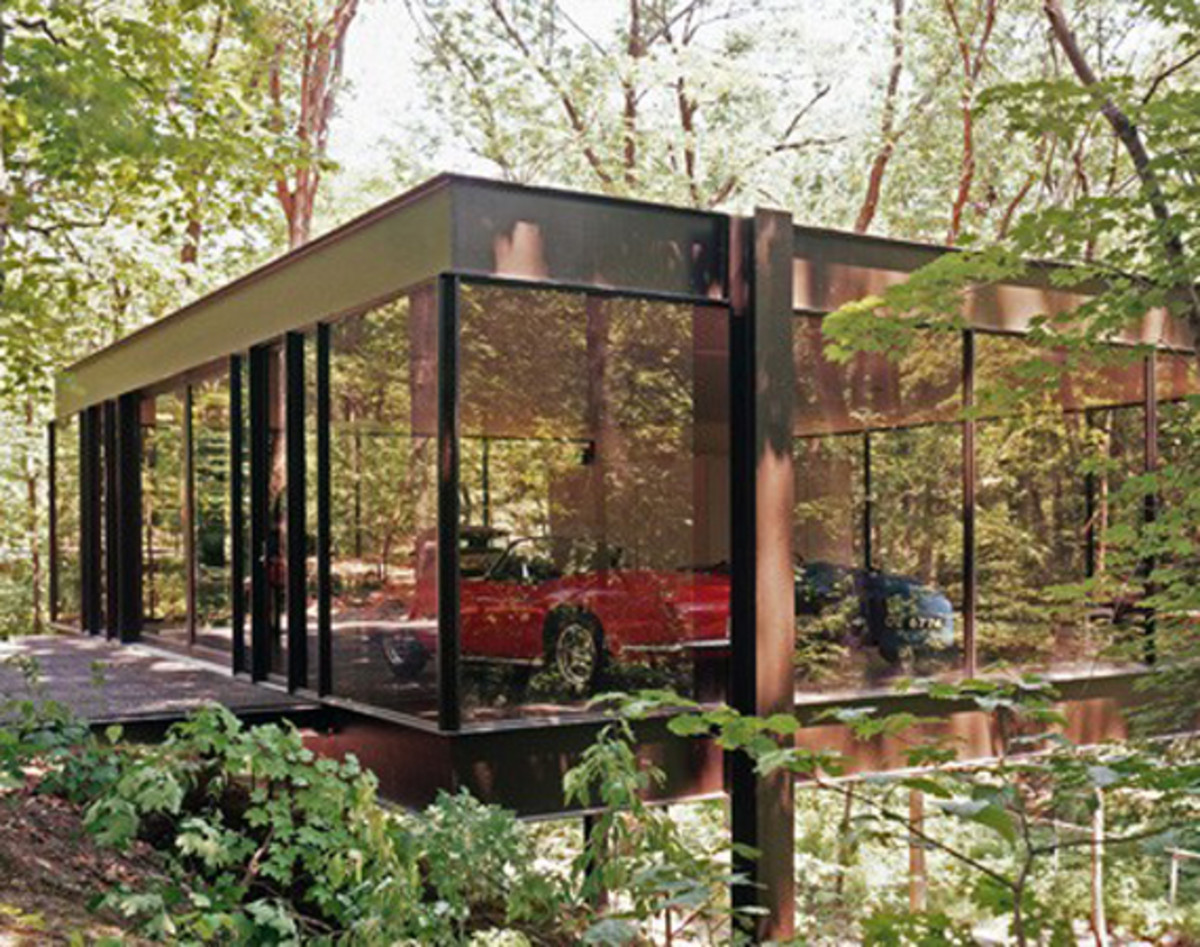 Glass House Featured In Ferris Buellers Day Off On