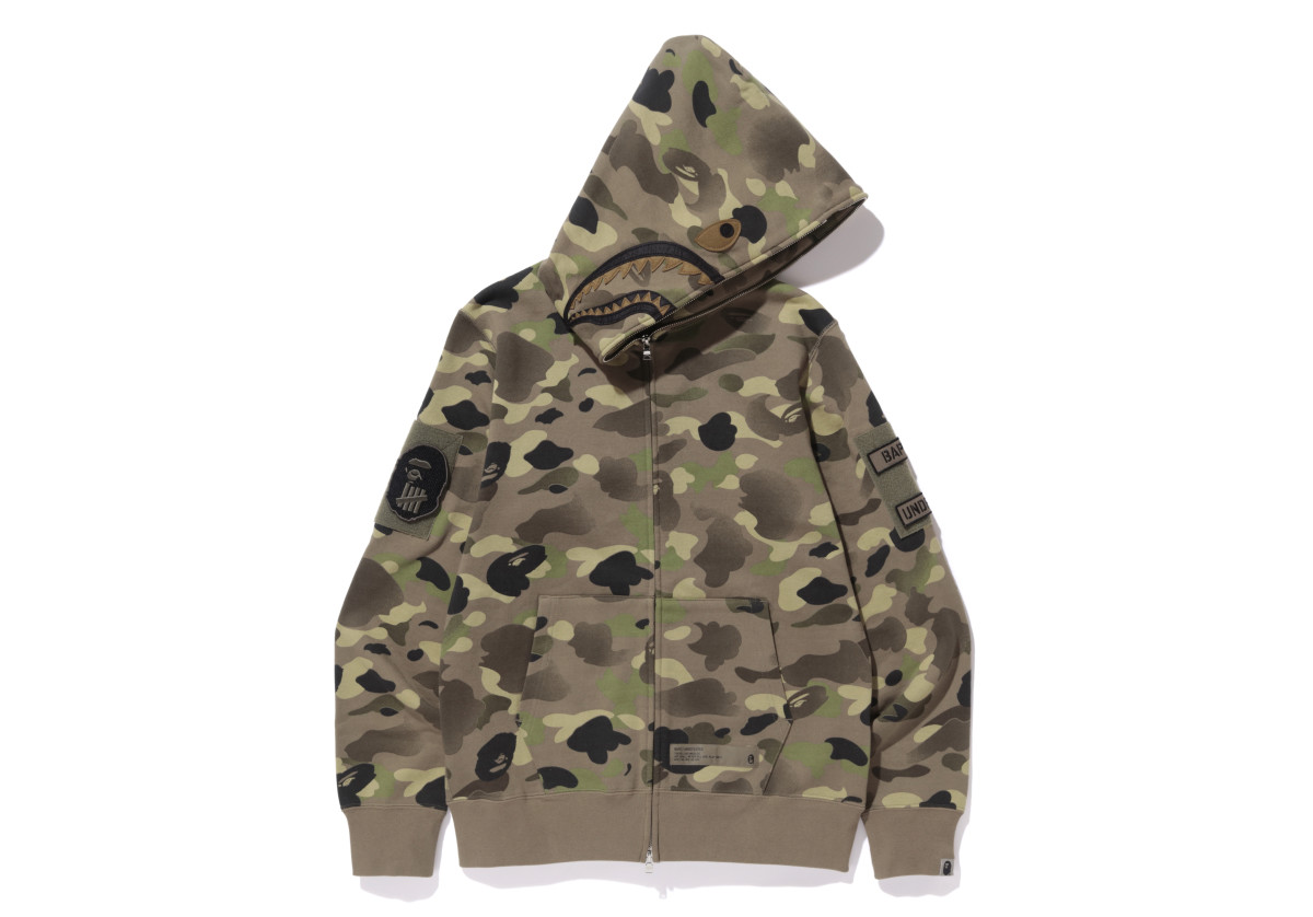 UNDEFEATED & BAPE Team Up on a Camo-Infused Collection - Freshness Mag