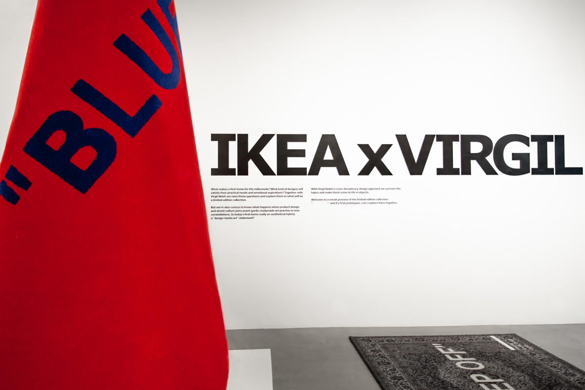 Virgil Abloh and IKEA Preview Their MARKERAD Collection