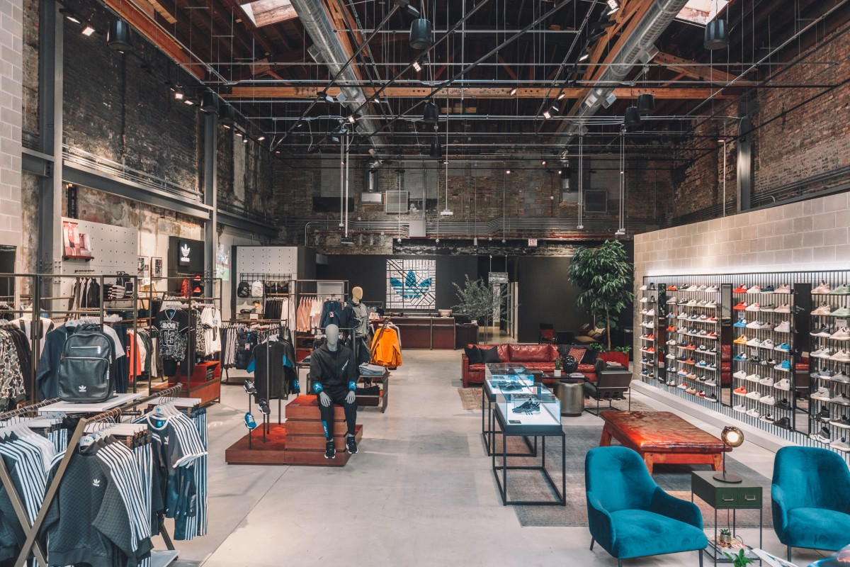 adidas Originals New Flagship Store in Chicago is the