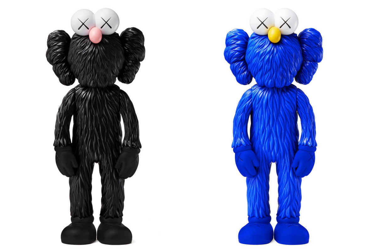 The KAWS BFF Vinyl Open Edition Is Available Now In Blue