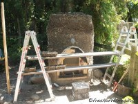 Building the Cob and Tadelakt Outdoor Fireplace  Homemade ...