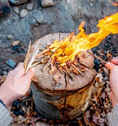 make a stove out of a single log learn to make a swedish torch with [ 1520 x 1013 Pixel ]