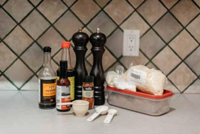 Ingredients to Make Beef Jerky Marinade (Recipe)